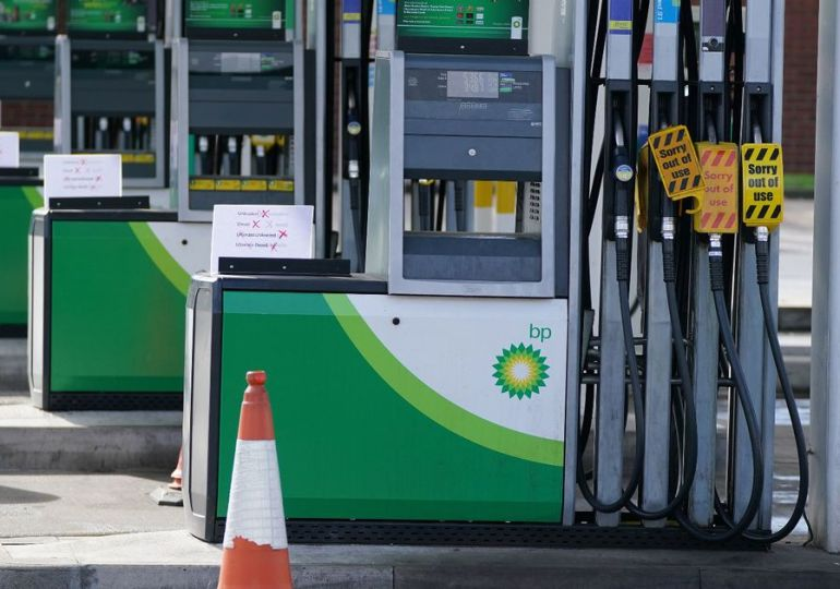 Fuel crisis: Army 'ready to respond' to supply shortages, says defence secretary
