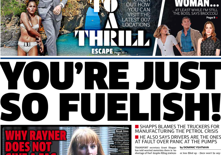 The Metro - 'You're just so fuelish'