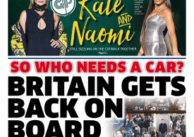The Metro - 'Britain gets back on board'