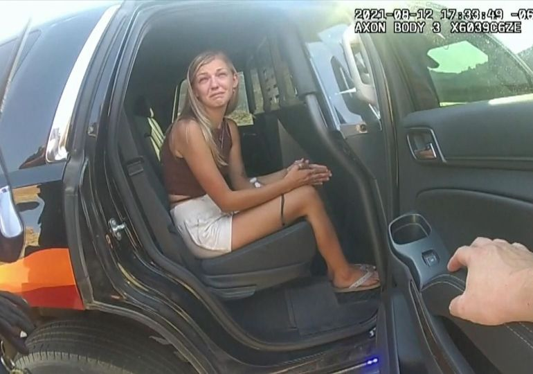 Gabby Petito: Police release bodycam footage of missing Florida woman as search continues