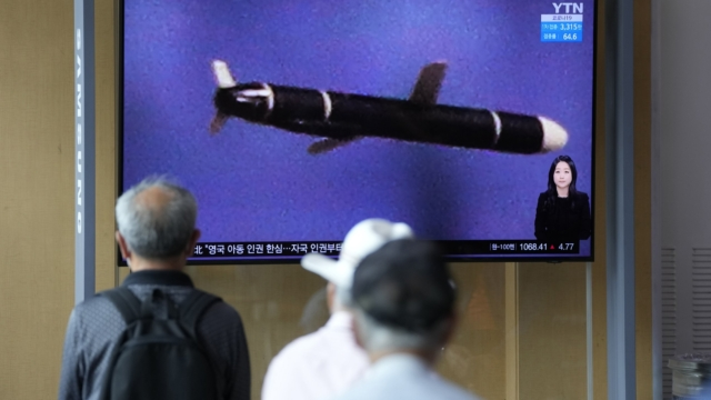 North Korea fires two ballistic missiles off its east coast in second weapon test this week