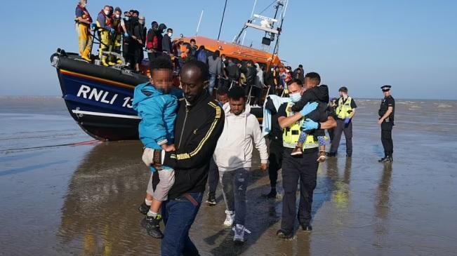 Priti Patel sanctions - tactics to turn migrant boats around !