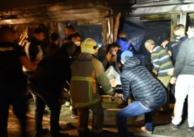 Ten dead in fire at temporary COVID hospital in North Macedonia