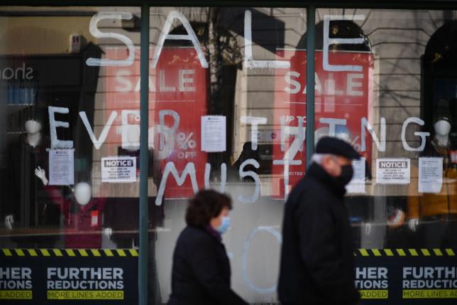 High streets in crisis with nearly 9,000 shops closing in just six months