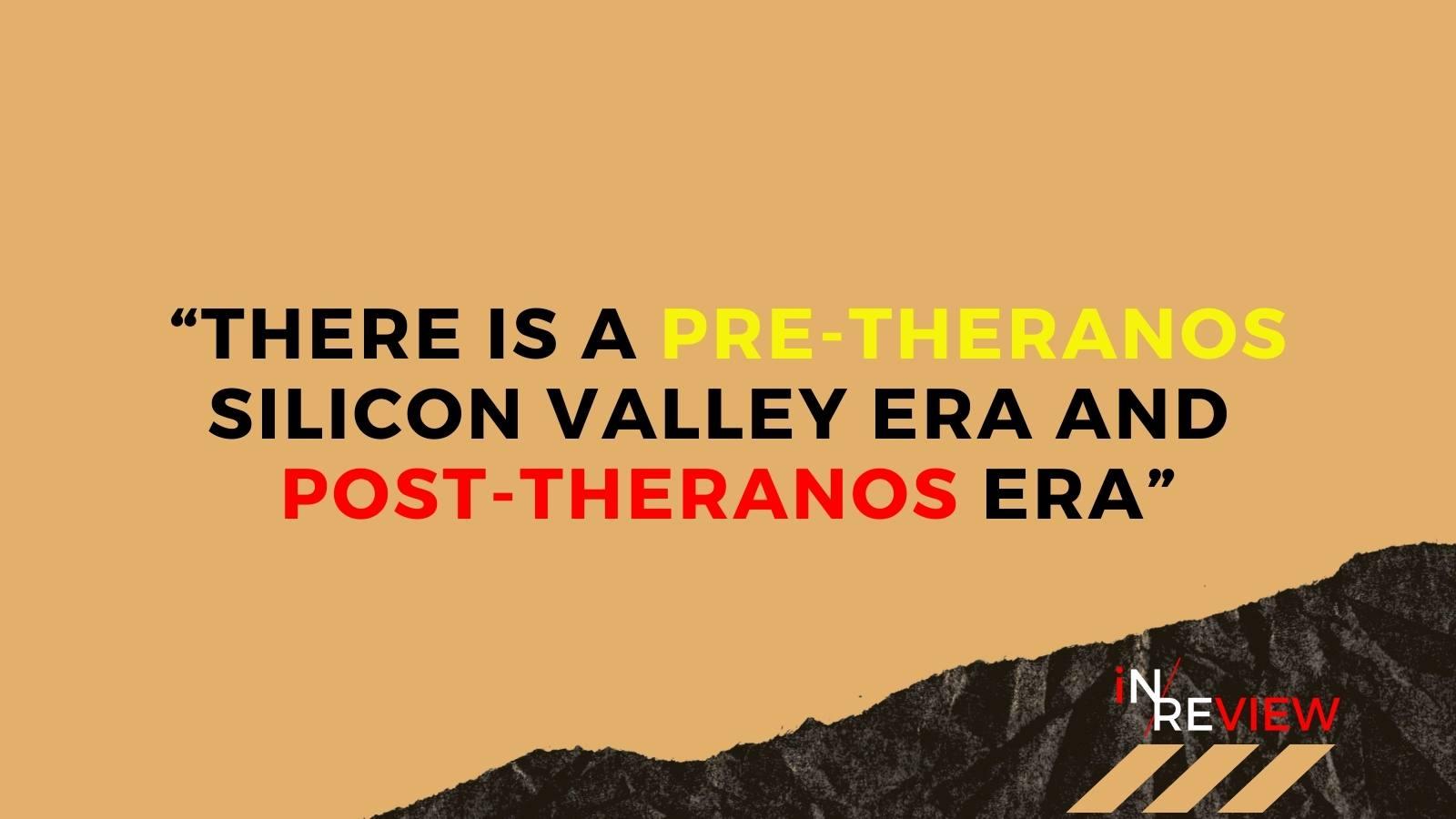 Elizabeth holmes theranos silicon valley