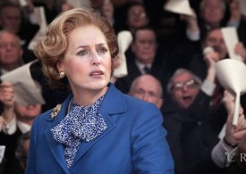 Awkward moment Gillian Anderson is asked if she's 'spoken to Margaret Thatcher' about playing her in The Crown