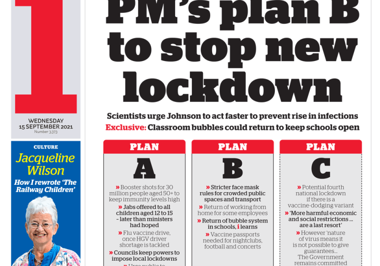 The i - 'PM's plan B to stop lockdown'