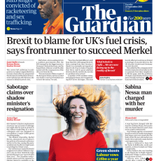 The Guardian – 'Brexit to blame for UK fuel crisis'