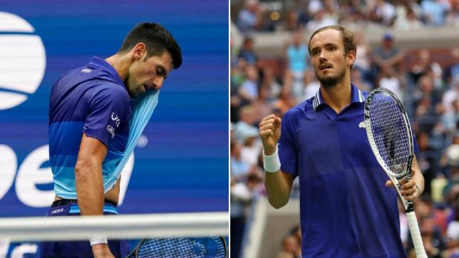 Novak Djokovic denied calendar Grand Slam as Daniil Medvedev wins epic US Open final
