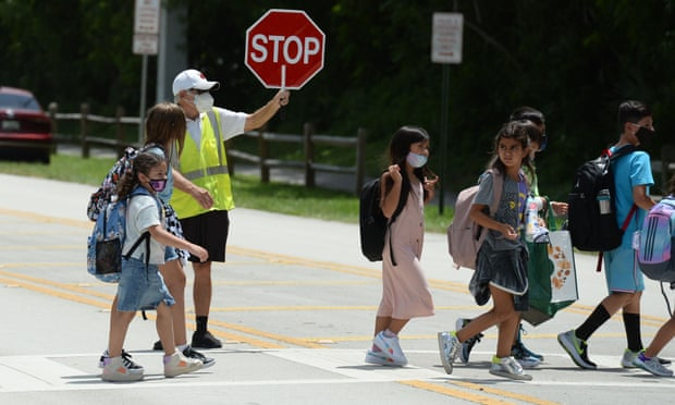 Covid cases among children are surging in the US as students head back to school