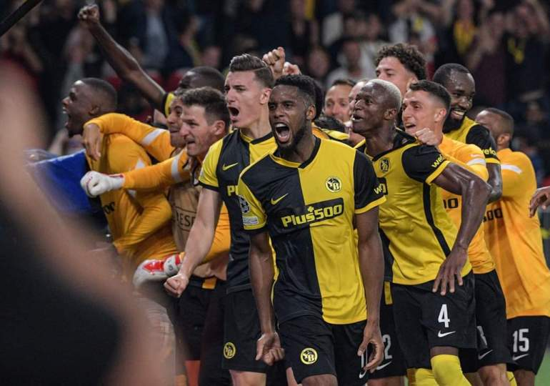 Man United stunned by Young Boys in Champions League