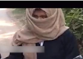 Muslim woman in India humiliated and forced to take off burqa in public