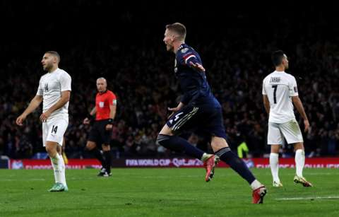 Scott McTominay scored Scotland's winner in stoppage time