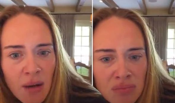 Adele's live stream goes viral for the wrong reason as fan asks very intimate question