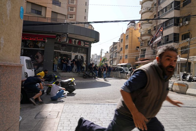 Beirut - undeclared truce A relative calm had been restored.