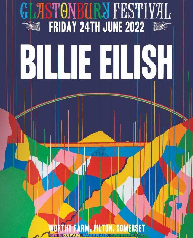 Billie Eilish to headline Glastonbury Festival in 2022