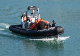 Border Force officers race to 'urgent incident' off Essex coast
