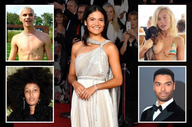 Britain's most eligible young stars from Emma Raducanu to Romeo Beckham