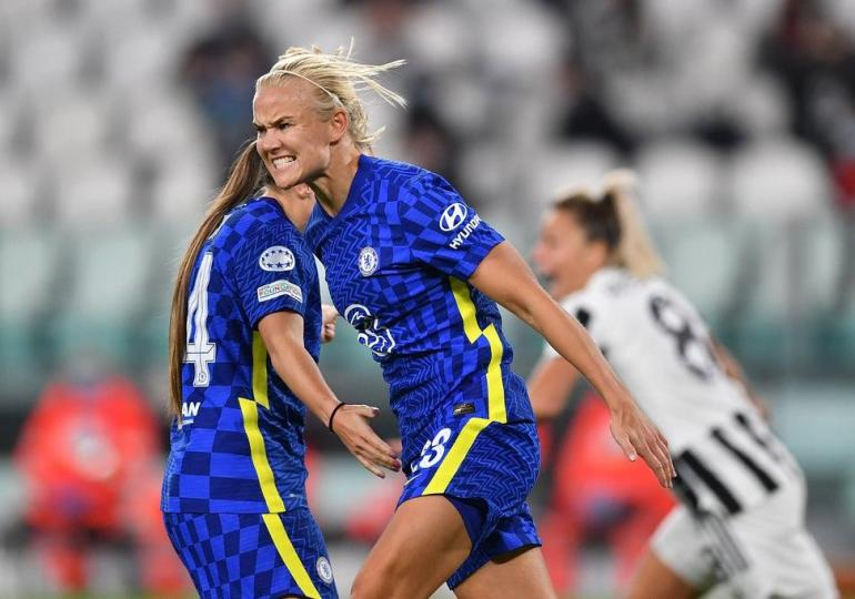 Pernille Harder fires Chelsea to crucial Champions League win at Juventus
