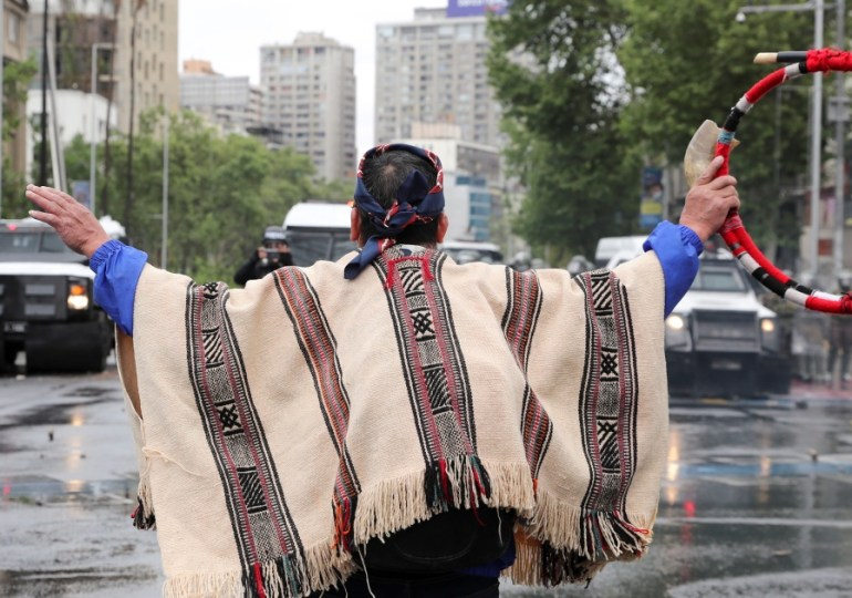Chilean president declares state of emergency over Mapuche conflict