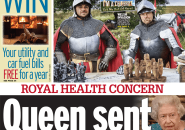 Daily Mirror - 'Queen sent to hospital'