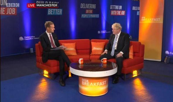 'Shame on you' Dan Walker sparks uproar with Boris Johnson's BBC Breakfast interview