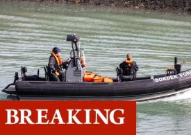 Harwich emergency declared as Border Force 'urgently responds' to major incident off coast
