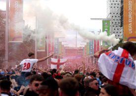 England given one-match stadium ban following unrest at Euro 2020 final