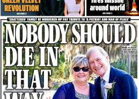Daily Express - 'David Amess: Nobody should die that way'