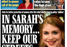 Daily Express - 'Keep our streets safe'