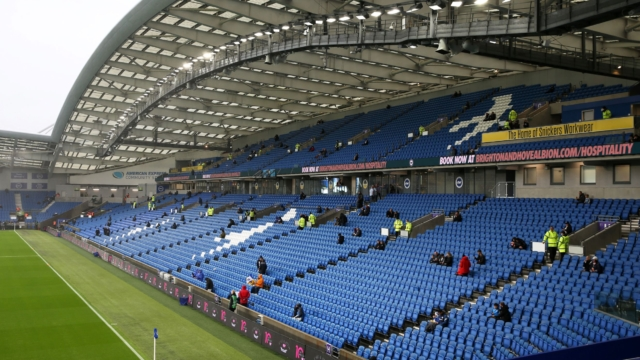 Premier League footballer arrested on suspicion of sexual assault following incident at Brighton nightclub