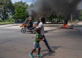 Haitians strike over insecurity following abduction of missionaries