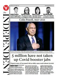 The Independent - '5m have not taken up booster jab'