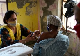 India celebrates one billion COVID vaccine doses with song, film