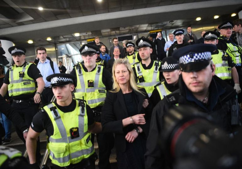 Insulate Britain protester arrested for blocking M25 is MARRIED to road boss responsible for traffic flow