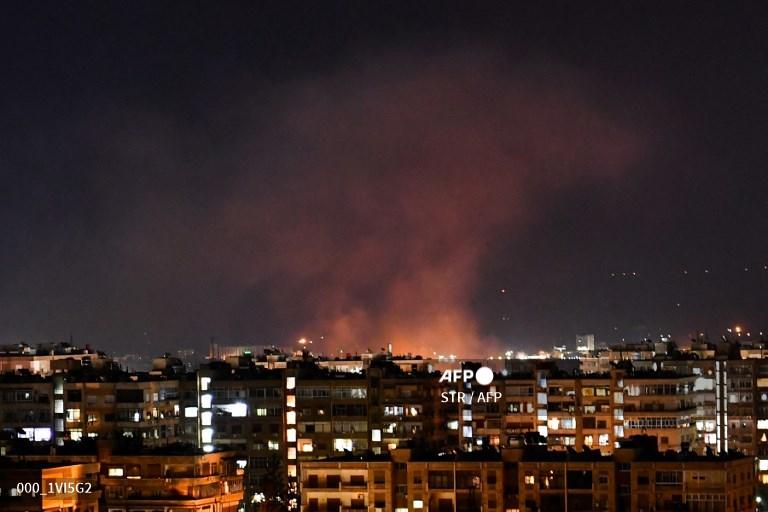 Israeli air strike kills four in central Syria: monitor