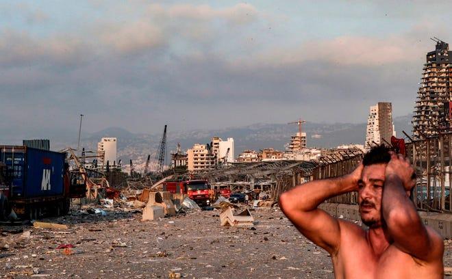 Lebanon Live: Gunfire in Beirut - developing story