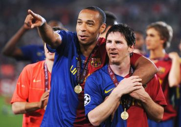 Thierry Henry insists Lionel Messi is not the best player he ever played with