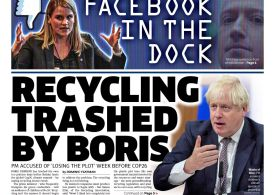 The Metro - 'Recycling trashed by Boris'