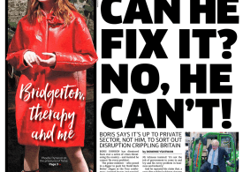 The Metro - 'Can he fix it? No he can't'