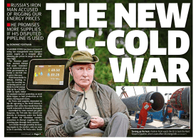 The Metro - 'The new Cold War'