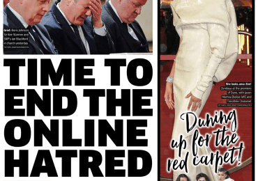 The Metro - 'Time to end the online hatred'