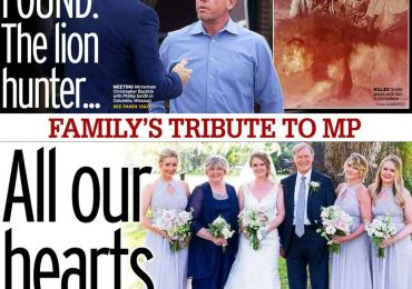 Daily Mirror - 'David Amess: All our hearts are shattered'