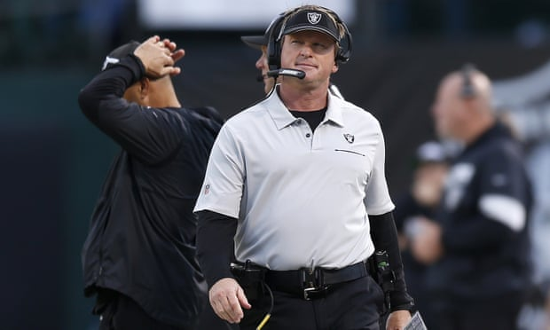 Jon Gruden quits Raiders after homophobic, racist and misogynistic emails