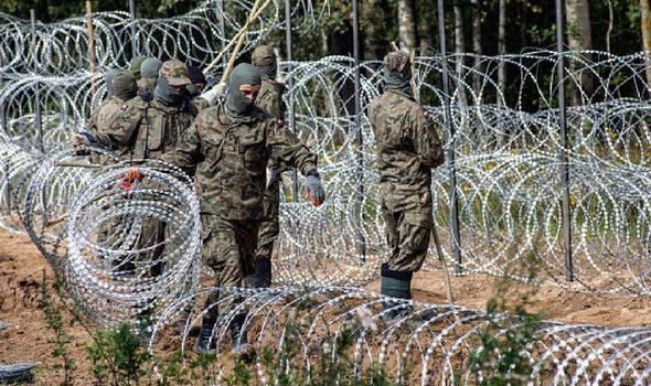 'You may be poisoned!' Migrants sent shocking text by Polish authority at Belarus border
