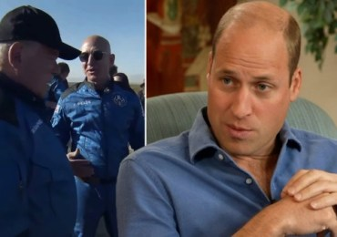 Prince William says billionaires should 'fix' this planet not look to space