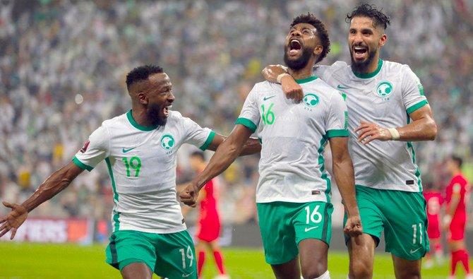 Saudi Arabia seal fourth straight World Cup qualifying victory over China