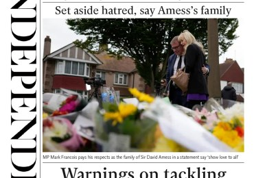 The Independent - 'Warnings on tackling extremism threat ignored'