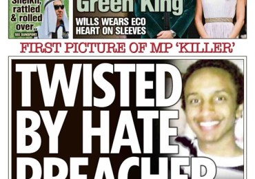 The Sun - 'MP killer twisted by online hate'