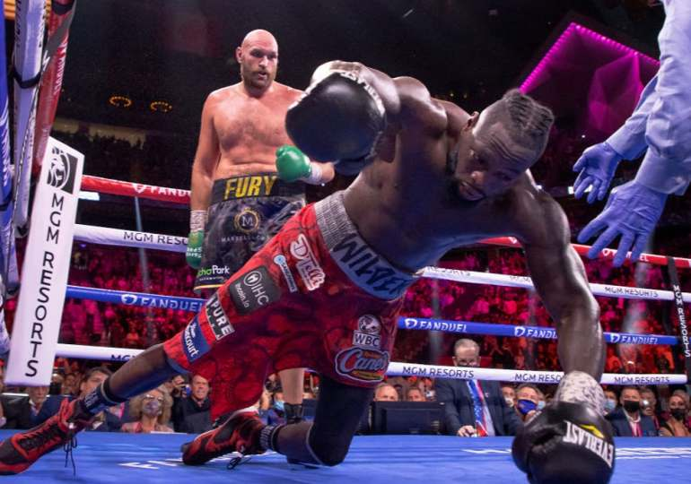 Deontay Wilder handed six-month suspension after suffering devastating knockout against Tyson Fury